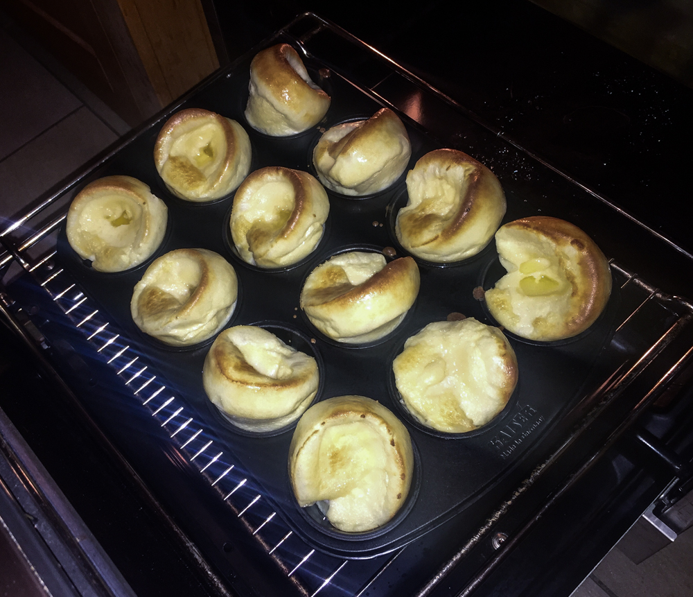 Real British Yorkshire Pudding
