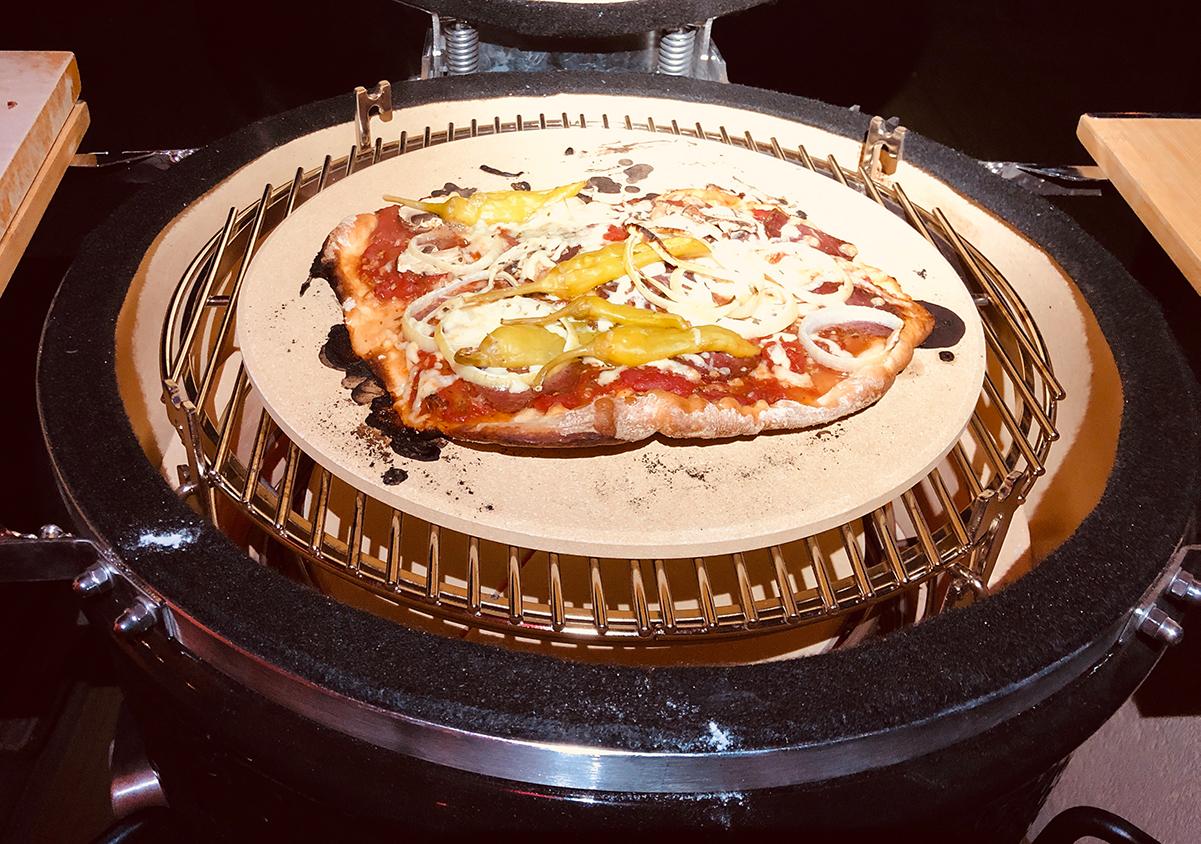 Die erste Pizza